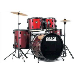PEACE DP-101- DRUM SET 5...